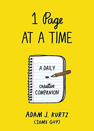 1 Page at a Time: A Daily Creative Companion Cover