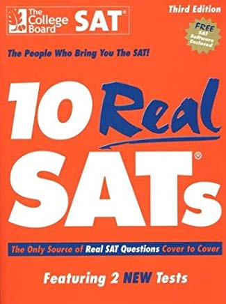 10 Real SATs, Third Edition Cover