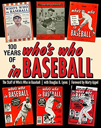 100 Years of Who's Who in Baseball Cover