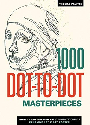 1000 Dot-to-Dot: Masterpieces Cover