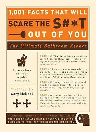 1,001 Facts that Will Scare the S#*t Out of You: The Ultimate Bathroom Reader Cover