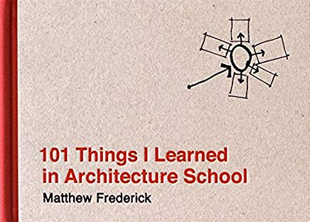 101 Things I Learned in Architecture School Cover