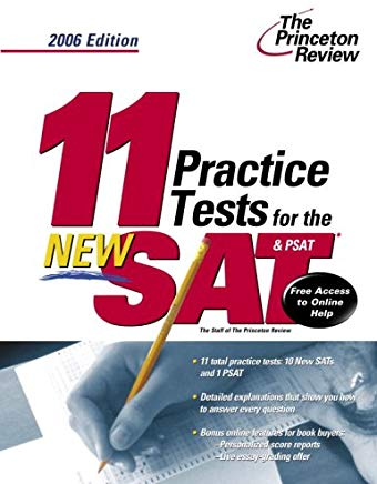 11 Practice Tests for the New SAT and PSAT, 2006 Edition (College Test Prep) Cover