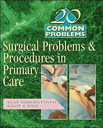 20 Common Problems: Surgical Problems And Procedures In Primary Care Cover
