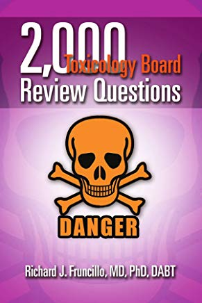 2,000 Toxicology Board Review Questions Cover