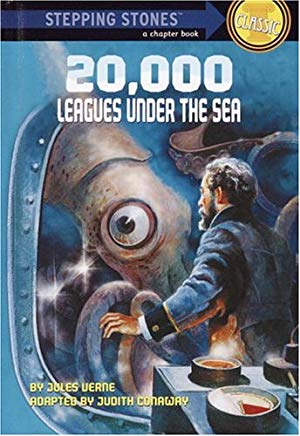 20,000 Leagues Under the Sea (A Stepping Stone Book(TM)) Cover