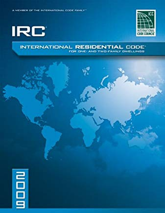 2009 International Residential Code For One-and-Two Family Dwellings: Soft Cover Version (International Code Council Series) Cover