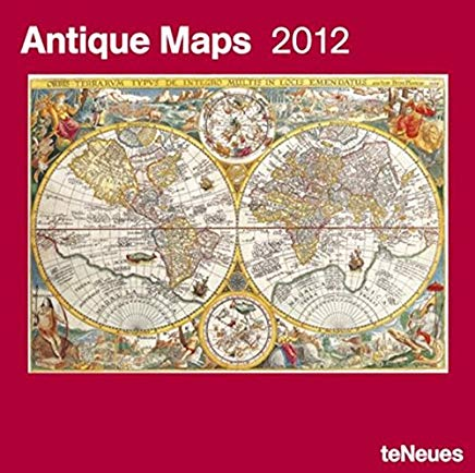 2012 Antique Maps Wall Calendar (English, German, French, Italian, Spanish and Dutch Edition) Cover