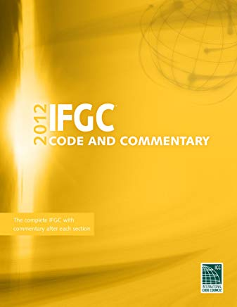 2012 International Fuel Gas Code Commentary (International Code Council Series) Cover