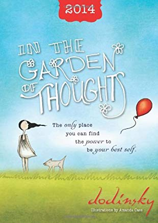 2014 In the Garden of Thoughts planner Cover