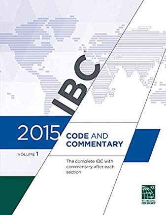2015 International Building Code Commentary, Volume 1 Cover