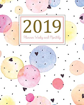2019 Planner Weekly and Monthly: A Year - 365 Daily - 52 Week Journal Planner and Notebook, Daily Weekly and Monthly Calendar, Agenda Schedule ... ,(January 2019 to December 2019)(Vol 12) Cover