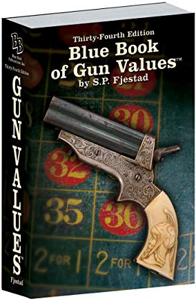 34th Edition Blue Book of Gun Values Cover
