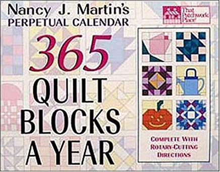 365 Quilt Blocks a Year Perpetual Calendar (That Patchwork Place) Cover