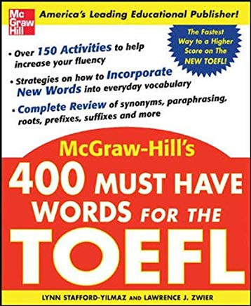 400 Must-Have Words for the TOEFL Cover