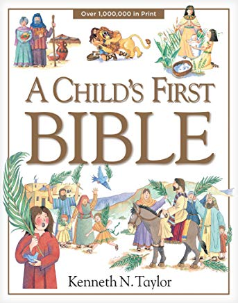A Child's First Bible Cover