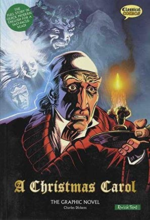 A Christmas Carol: The Graphic Novel (American English, Quick Text Edition) Cover
