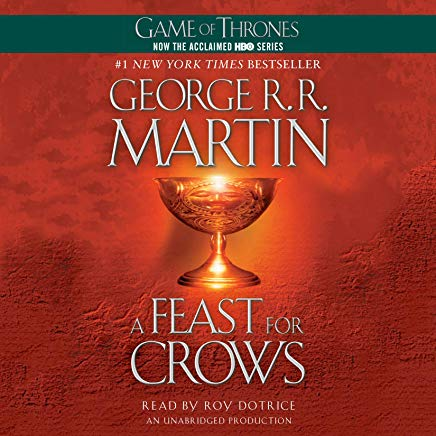 A Feast for Crows: A Song of Ice and Fire, Book 4 Cover