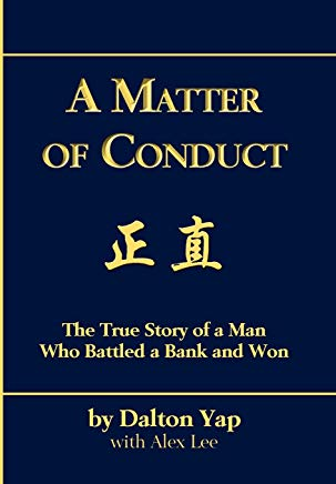 A Matter of Conduct: The True Story of a Man Who Battled a Bank and Won Cover