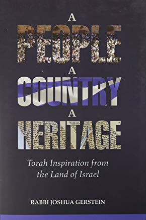 A People, A Country, A Heritage - Torah Inspiration from the Land of Israel Cover