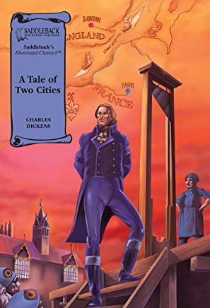 A Tale of Two Cities (Saddleback's Illustrated Classics) Cover