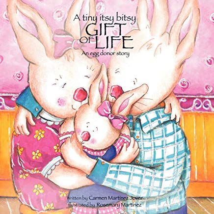 A tiny itsy bitsy gift of life, an egg donor story Cover