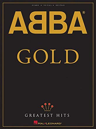 ABBA - Gold: Greatest Hits (Piano/Vocal/guitar Artist Songbook) Cover