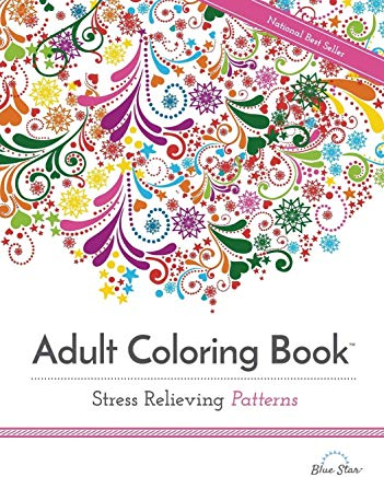Adult Coloring Book: Stress Relieving Patterns (Adult Coloring Books Best Sellers) Cover