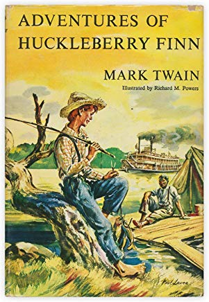 Adventures of Huckleberry Finn (with original illustrations by E.W. Kemble and James Harley): Tom Sawyer's Comrade Cover