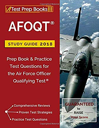 AFOQT Study Guide 2018: Prep Book & Practice Test Questions for the Air Force Officer Qualifying Test Cover
