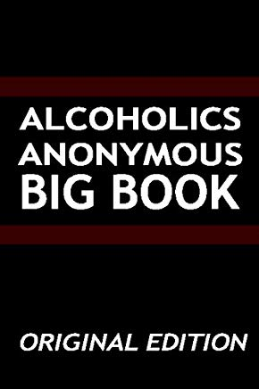 Alcoholics Anonymous - Big Book - Original Edition Cover