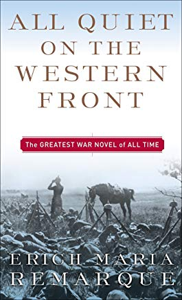All Quiet on the Western Front: A Novel Cover