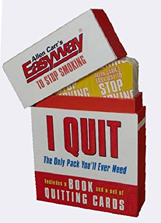 Allen Carr's Easyway to Stop Smoking: I Quit: I Quit - The Only Pack You'll Ever Need (Allen Carrs Easy Way) Cover
