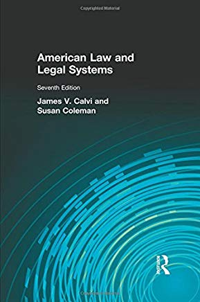 American Law and Legal Systems (7th Edition) Cover