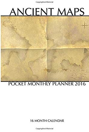 Ancient Maps Pocket Monthly Planner 2016: 16 Month Calendar by Jack Smith (2015-07-22) Cover