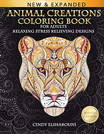 Animal Creations Coloring Book: Inspired By Nature Cover