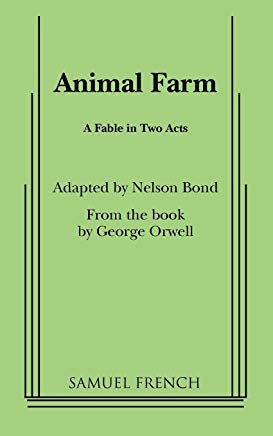Animal Farm: A Fable In Two Acts Cover