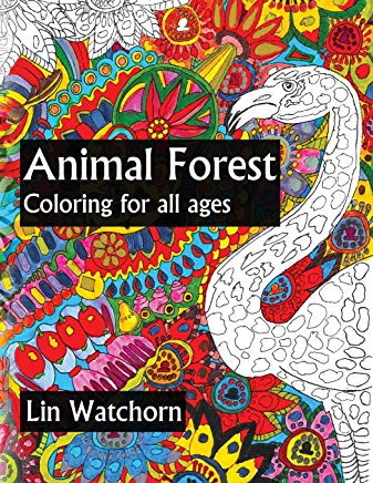 Animal Forest: Coloring For All Ages Cover