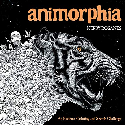 Animorphia: An Extreme Coloring and Search Challenge Cover