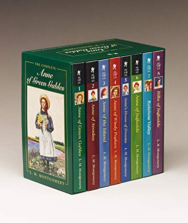 Anne of Green Gables, Complete 8-Book Box Set: Anne of Green Gables; Anne of the Island; Anne of Avonlea; Anne of Windy Poplar; Anne's House of ... Ingleside; Rainbow Valley; Rilla of Ingleside Cover