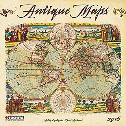 Antique Maps (160201) (English, Spanish, French, Italian and German Edition) Cover