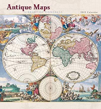 Antique Maps 2013 Calendar Cover