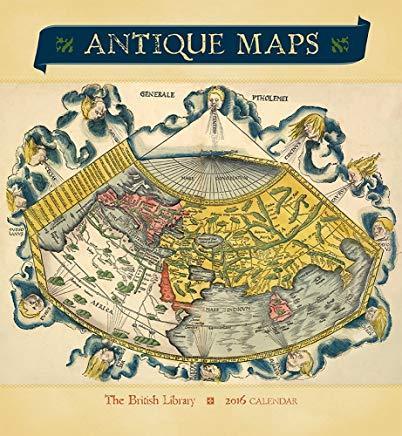 Antique Maps 2016 Calendar Cover