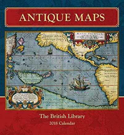 Antique Maps 2018 Wall Calendar Cover