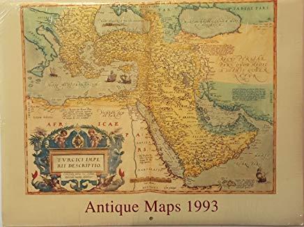 Antique Maps Wall Calendar 1993 Cover