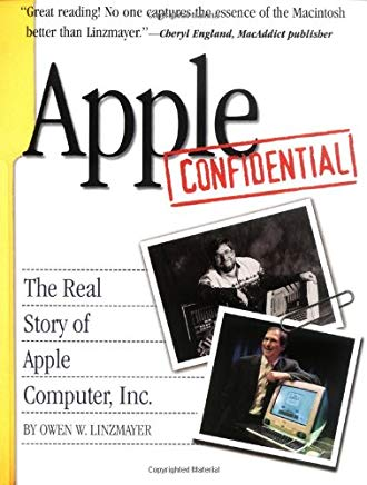 Apple Confidential: The Real Story of Apple Computer, Inc. Cover