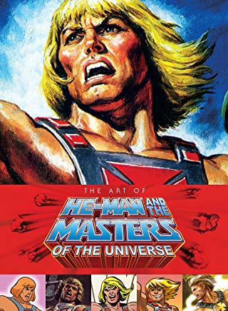 Art of He Man and the Masters of the Universe Cover