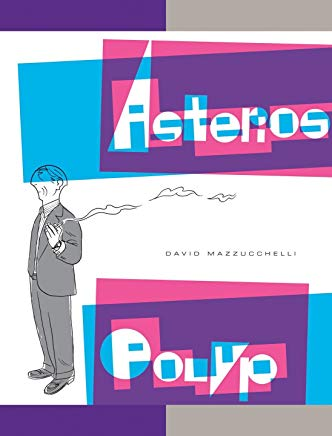 Asterios Polyp (Pantheon Graphic Library) Cover