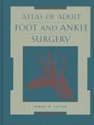 Atlas Of Adult Foot And Ankle Surgery Cover