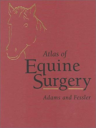 Atlas of Equine Surgery Cover